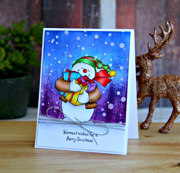 Let it snow card 1 smaller