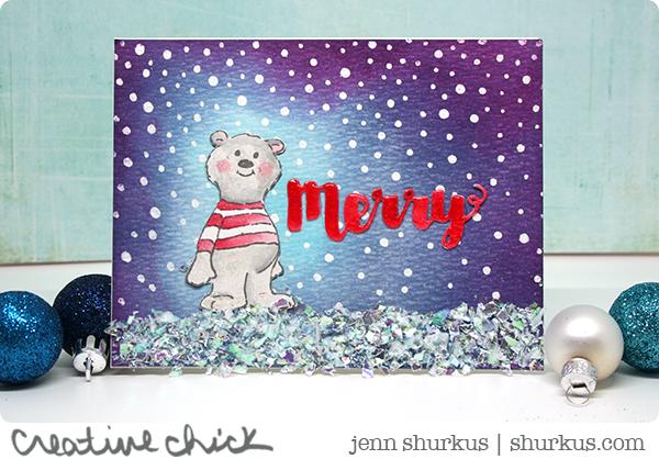 Let It Snow, Featuring Art Impressions | shurkus.com