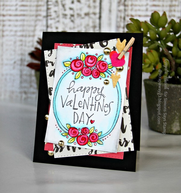Happy Valentine's Day card smaller