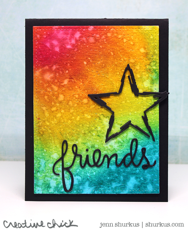 Anything Goes, Friendship Rainbow, Featuring Simon Says Stamp Exclusive Products | shurkus.com