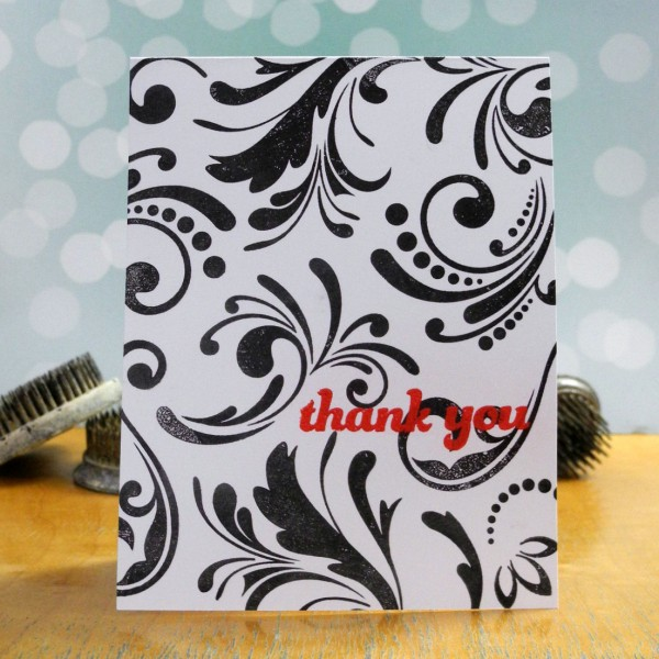 Thank You by Jennifer Ingle #SimonSaysStamp #PaperSmooches #JustJingle