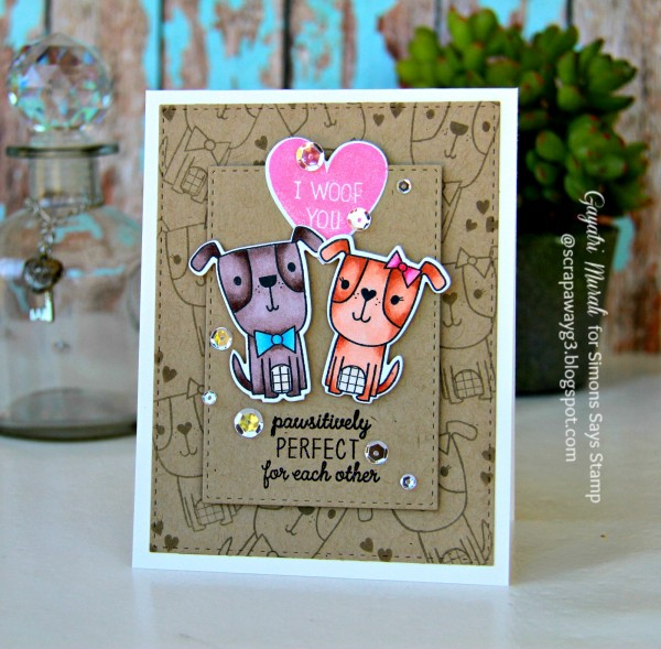 Pawsitively perfect card #1 smaller