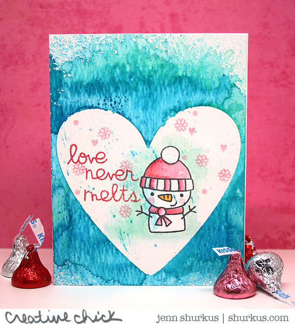 One Layer, Featuring Paper Smooches | shurkus.com