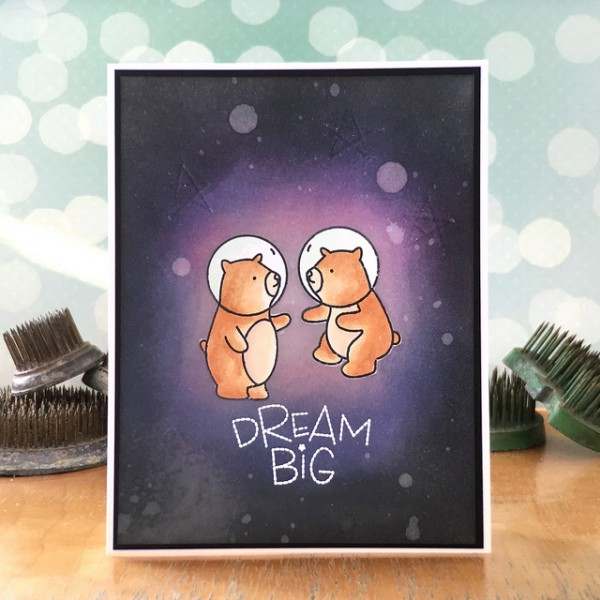 Dream Big by Jennifer Ingle #RangerInk #SimonSaysStamp #MamaElephant #JustJingle