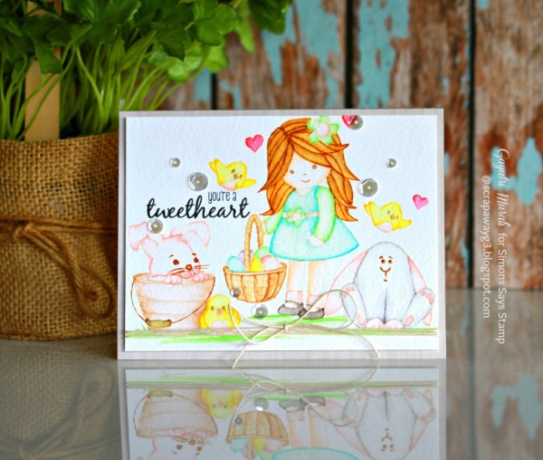 You're a Tweetheart card small
