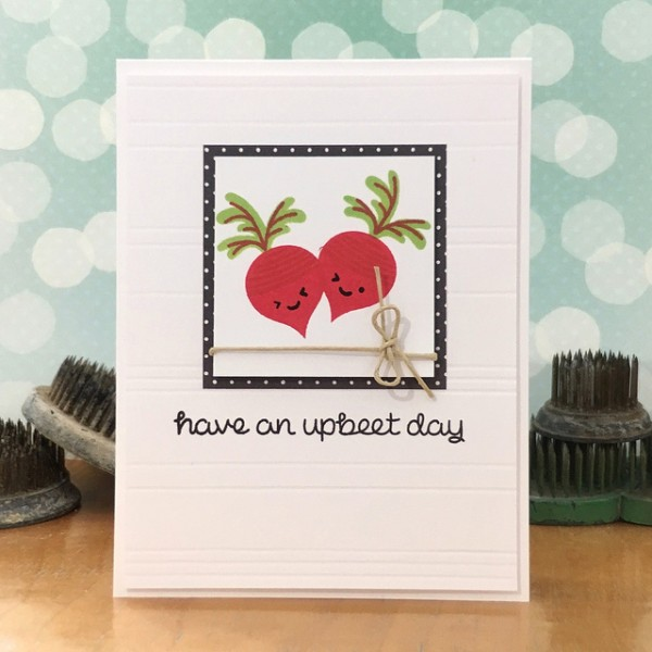 Have an Upbeet Day by Jennifer Ingle #SimonSaysStamp #LawnFawn #JustJingle