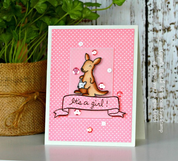 It's a girl card #2 smaller