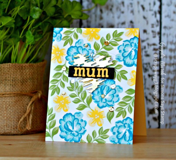 Mum card smaller