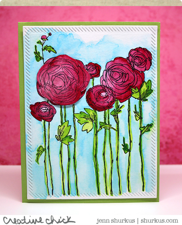 Anything Goes, Featuring Stampendous | shurkus.com