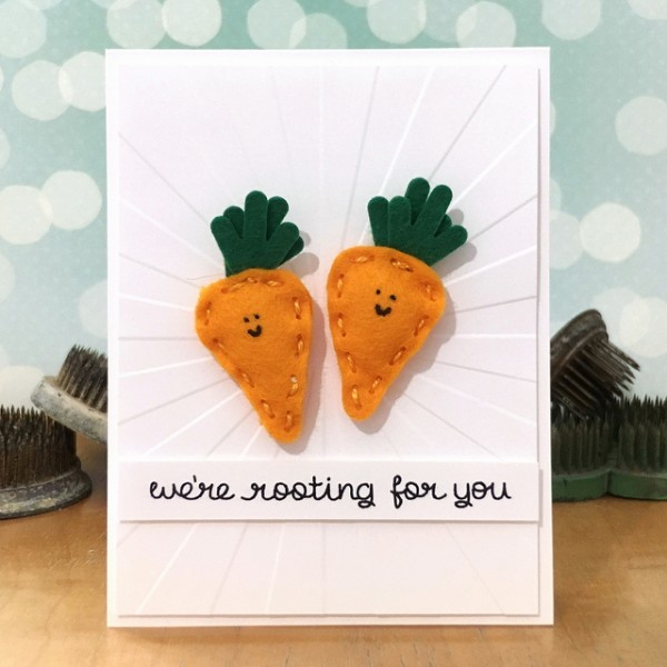 Rooting For You by Jennifer Ingle #SimonSaysStamp #LawnFawn #JustJingle