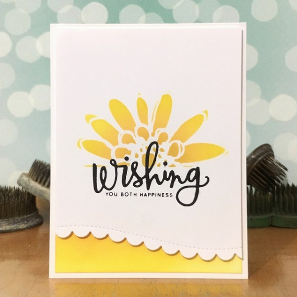 Wishing You Both by Jennifer ingle #SimonSaysStamp #JustJingle