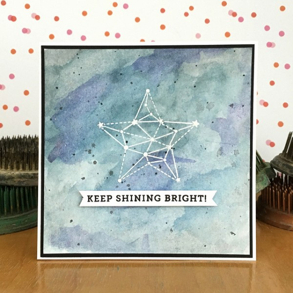 Keep Shining Bright by Jennifer Ingle #SimonSaysStamp #JustJingle
