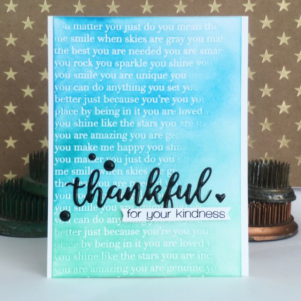 Thankful for your Kindness by Jennifer Ingle #SimonSaysStamp #STAMPtember #JustJingle