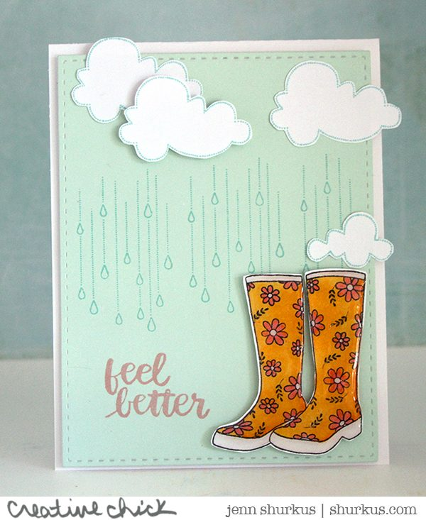 Feel Better, Penny Black, Simon Says Stamp | shurkus.com