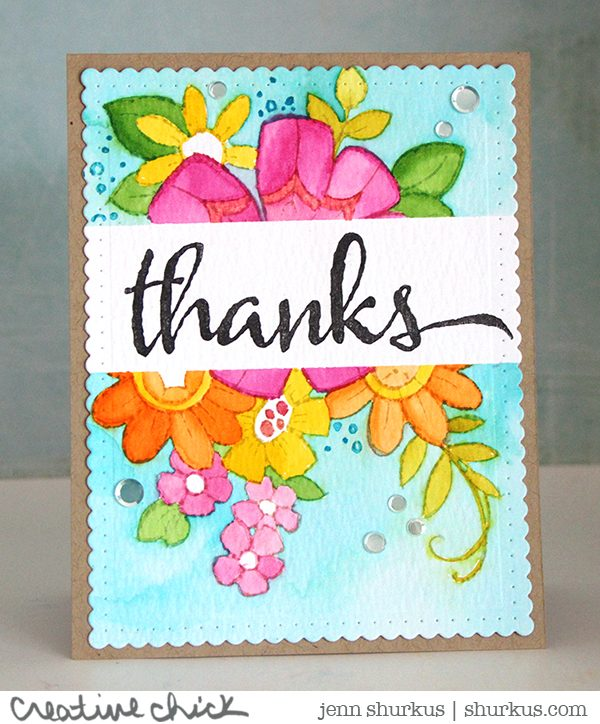 Stampendous, Flower Power, Simon Says Stamp | shurkus.com