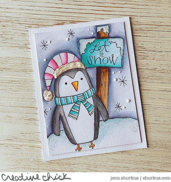 Snow Party, Jenn Shurkus   shurkus.com