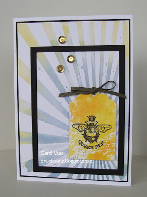 Winner - Add a Die Cut Challenge - Simon Wednesday Challenge