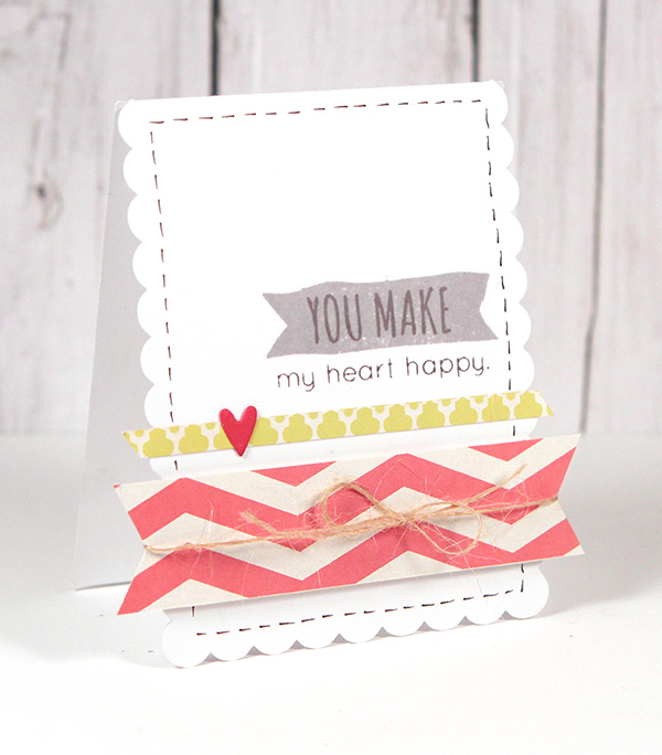 You Make My Heart Happy - Simon Says Stamp Blog