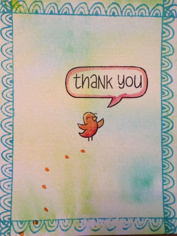 Chrsitine Stamptember thankyou