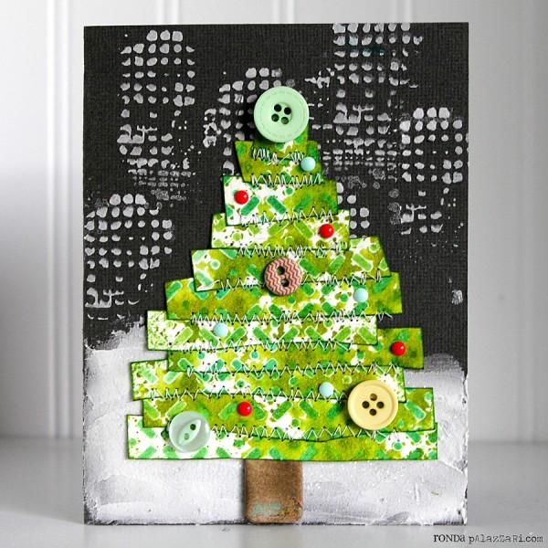 Ronda Palazzari Winter Tree Card