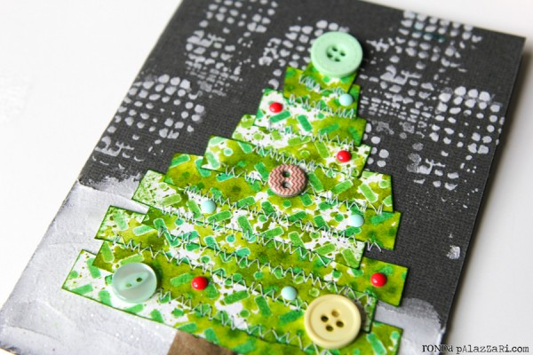 Ronda Palazzari Winter Tree Card details