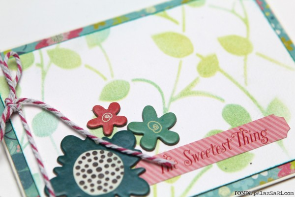 Ronda Palazzari The Sweetest thing Card details