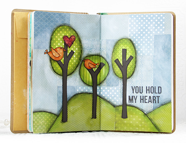 Shari Carroll You Hold My Heart Journal