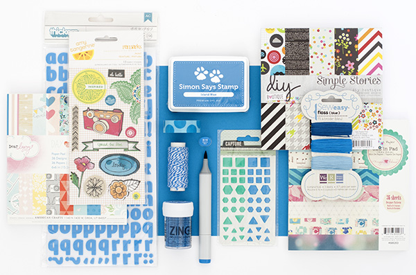 color coordinates island blue   simon says stamp blog