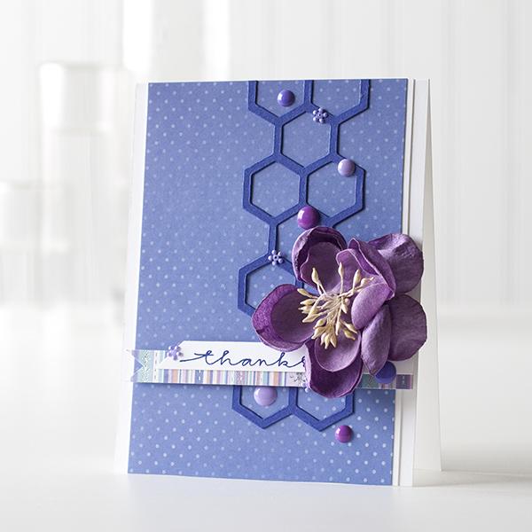 Shari Carroll Blue Violet CC