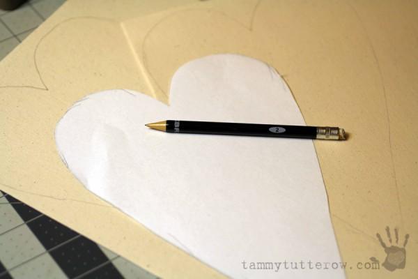 Tammy Tutterow   Felt Flower Gift Heart 2