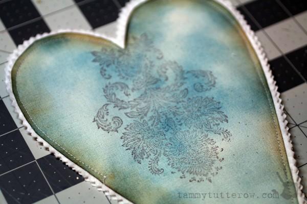 Tammy Tutterow   Felt Flower Gift Heart 6