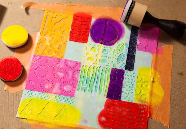 painting Geometric Art Stencil