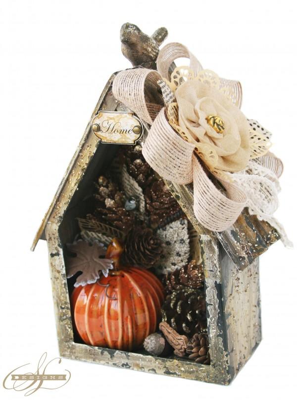 Sharon Autumn Birdhouse2