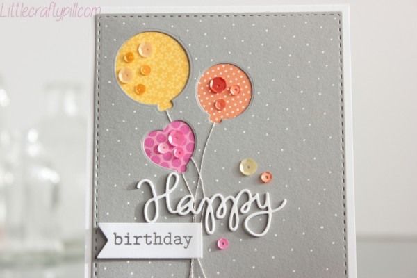 Happy Birthday balloons 3