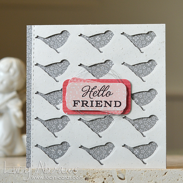 Hello Friend by Lucy Abrams for SSS