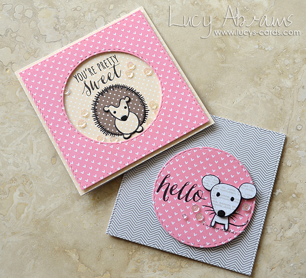 Cute Animals Cards by Lucy Abrams for SSS copy