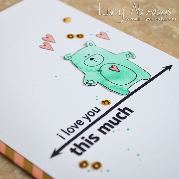 I love you THIS much 2 by Lucy Abrams for SSS
