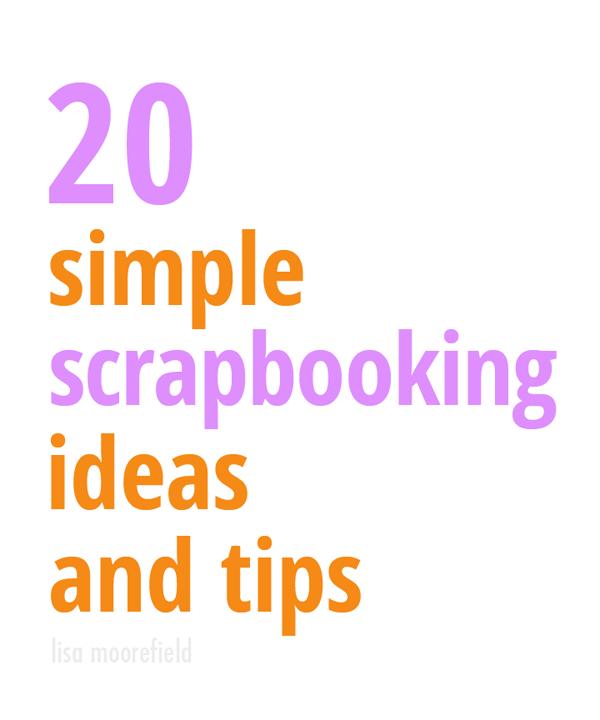 20-simple-scrapbooking-ideas