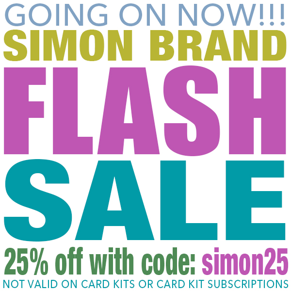 SIMON FLASH SALE SIMON 25 600X600