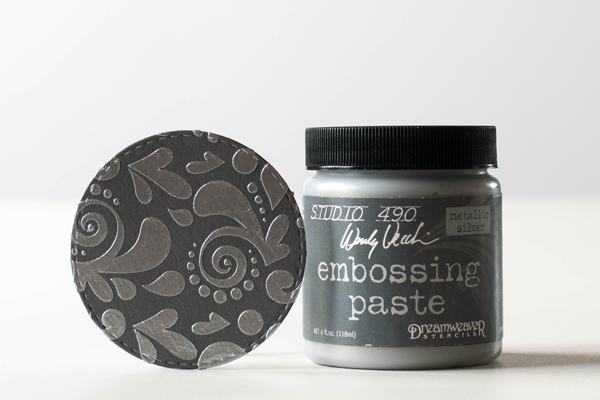 embossing-paste-silver
