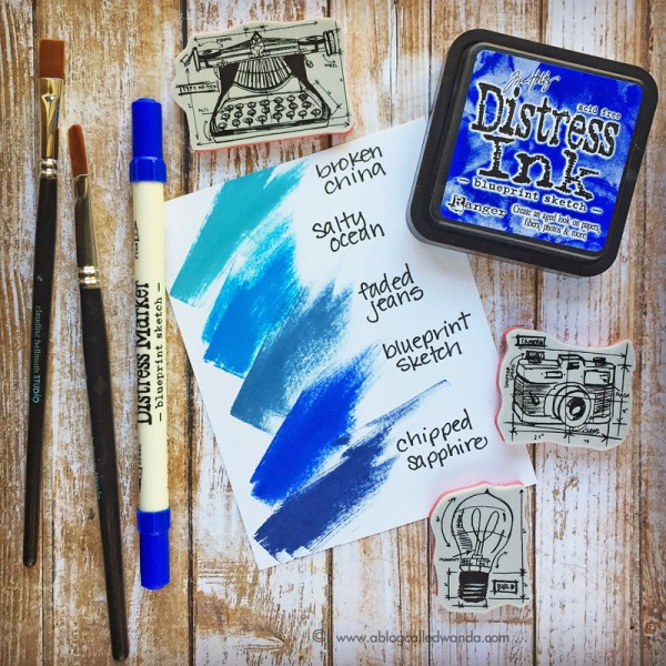 Tim holtz distress ink color pop blueprint sketch simon says blueprint swatch malvernweather Gallery