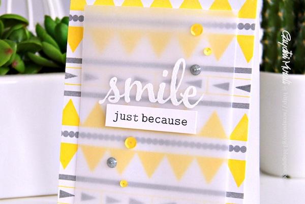smile just because closeup