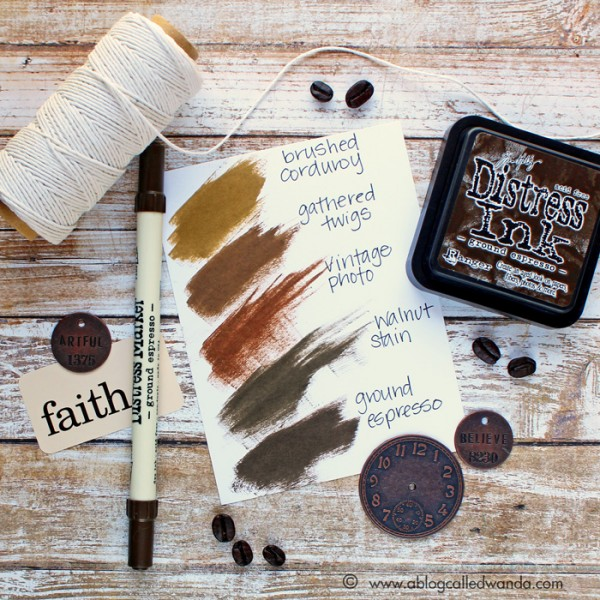 Ground Espresso Ink Swatch Color Pop!