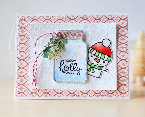 Holly Christmas J. Olson 1