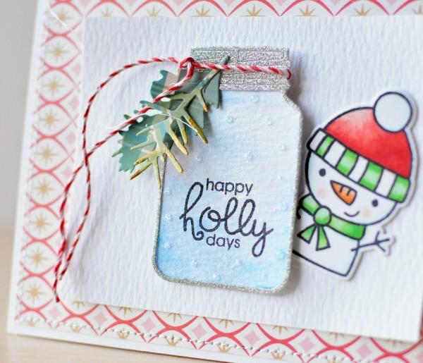 Holly Christmas J. Olson 3