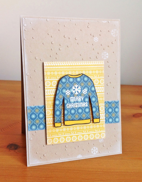 ugly sweater card