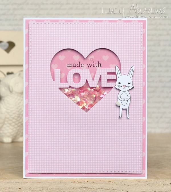 Made with Love by Lucy Abrams for Simon Says Stamp