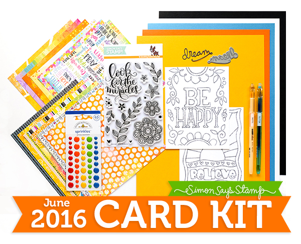 June 2016 Card Kit 600