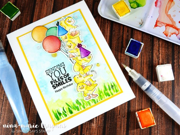 Watercolor Birthday Scene_2