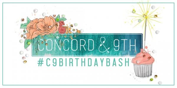 C9 Birthday Bash RECTANGLE